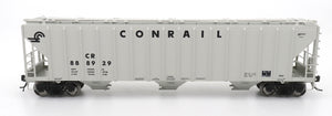 4785 PS2-CD Covered Hopper - Late End Frame - Conrail - Grey Medium Logo