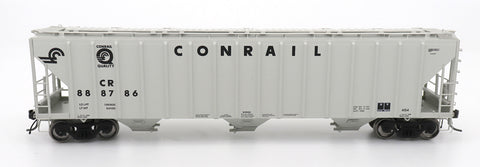 4785 PS2-CD Covered Hopper - Late End Frame - Conrail - Grey Quality Logo
