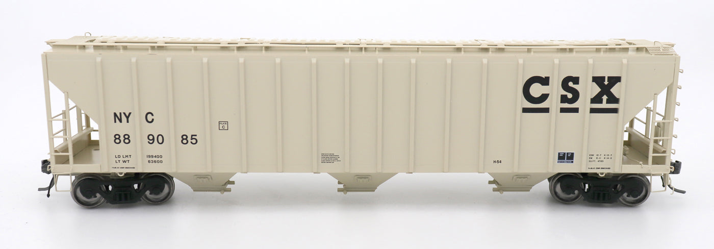 4785 PS2-CD Covered Hopper - Late End Frame - CSX Repaint