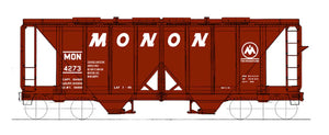 1958 cu. ft. 2-Bay Hopper - Monon