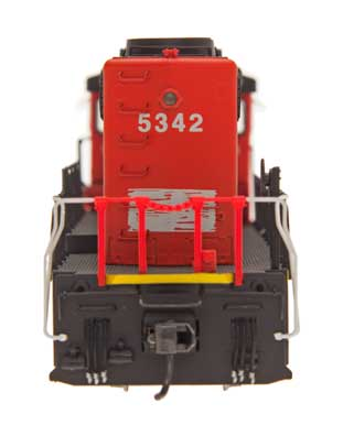SD40-2W - New Hope and Ivy - CN Map Paintout