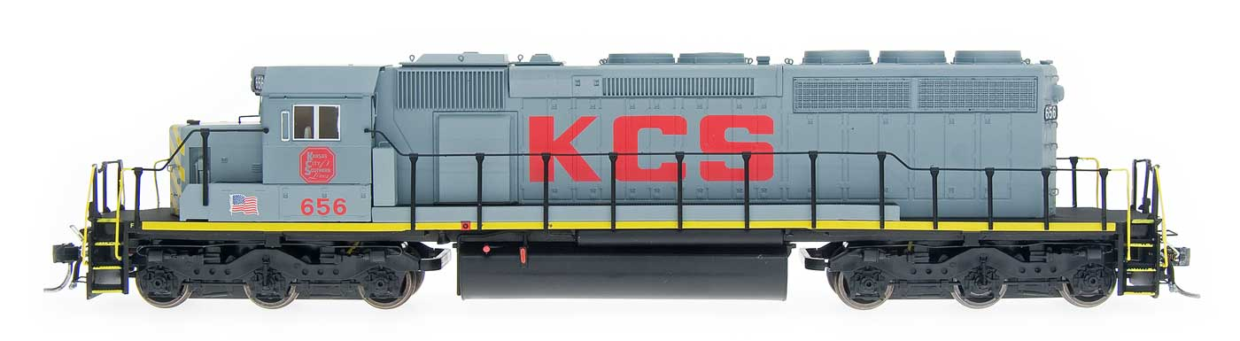 SD40-2 - Kansas City Southern- Grey