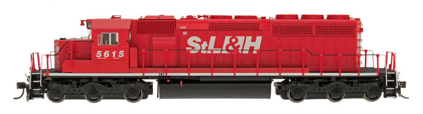HO SD40-2 Locomotive - Saint Lawrence & Hudson