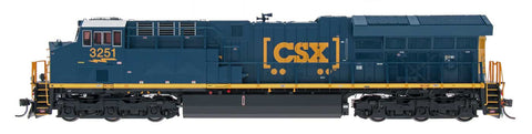 Tier 4 GEVO Locomotive - CSX - ET44AH