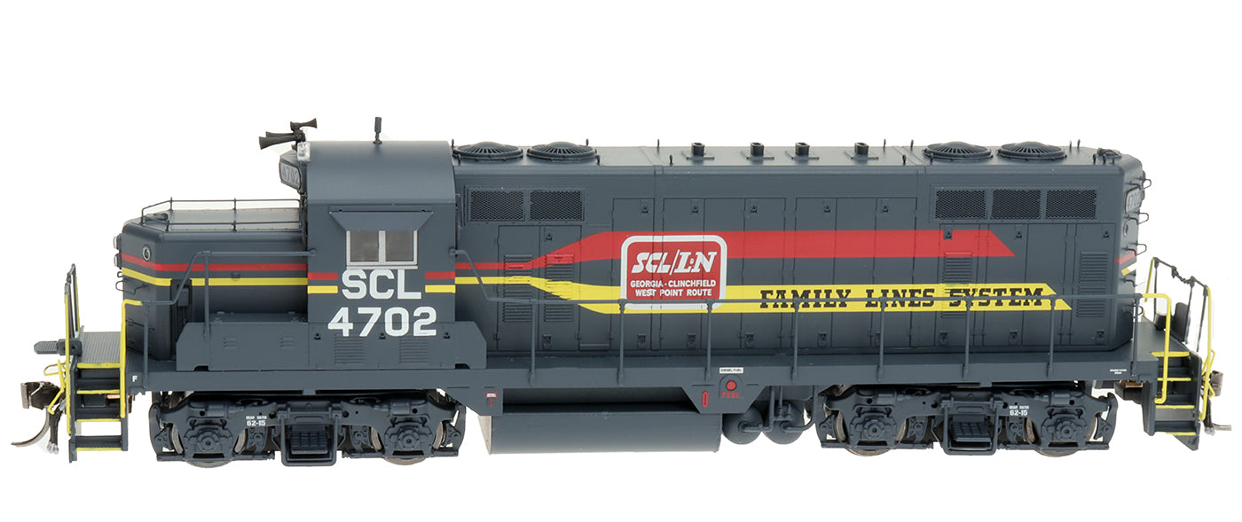 HO GP16 Locomotive - Family Lines System