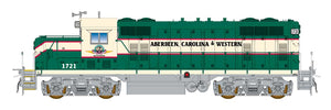 HO GP16 Locomotive - Aberdeen, Carolina & Western