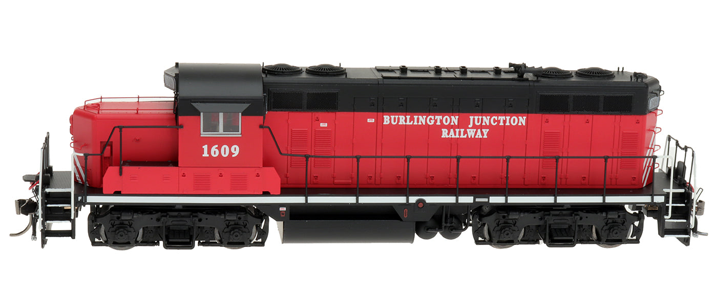 HO GP16 Locomotive - Burlington Junction Railway