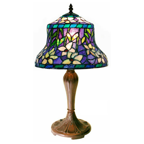 Tiffany-style Blue Table Lamp
