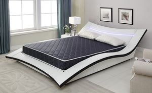 "6"" Navy Blue Full Foam Mattress Covered in a Stylish Waterproof Fabric"
