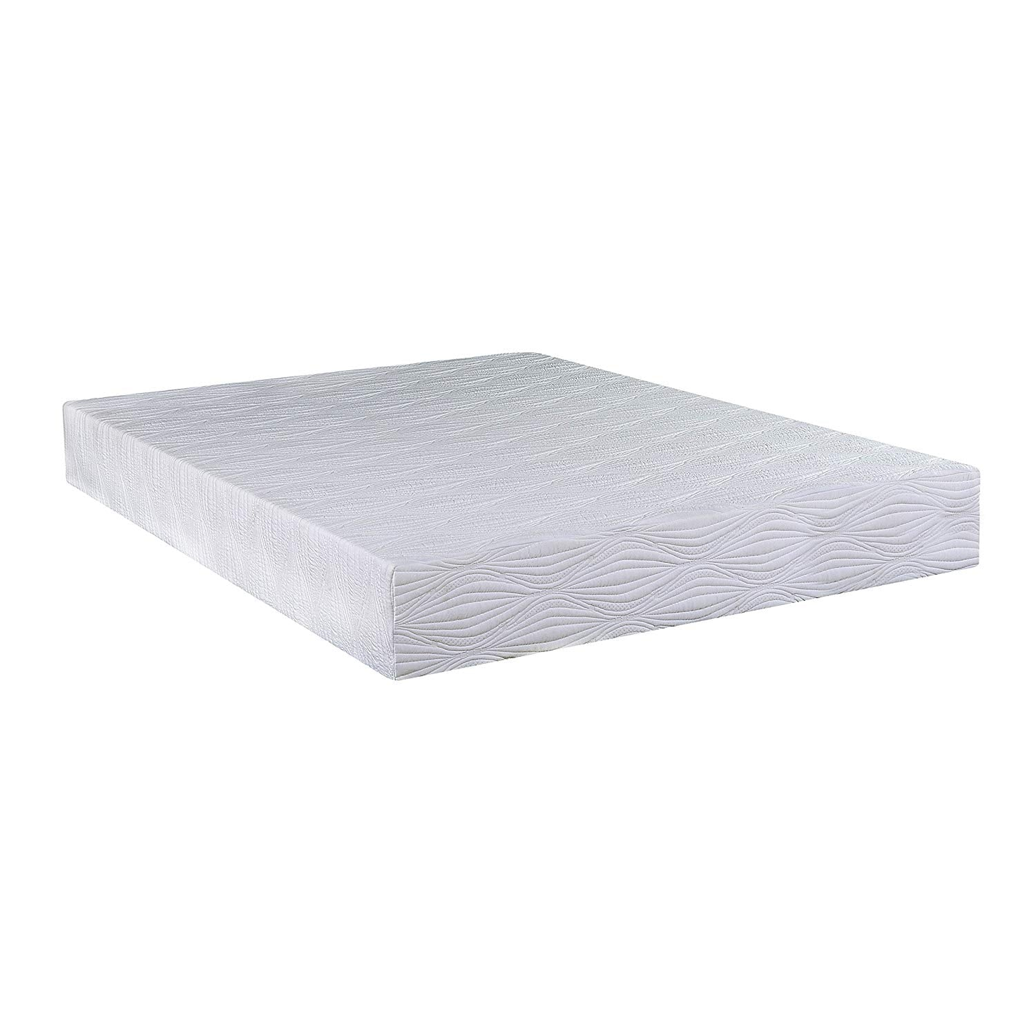 "10"" Twin Gel Infused Memory Foam Mattress with CertiPUR-US Certified Foam"
