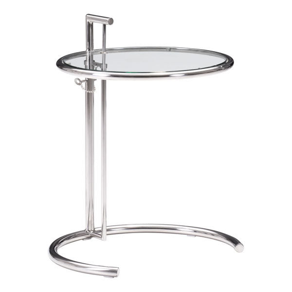 "19"" X 19"" X 20.5"" Clear Glass Table"
