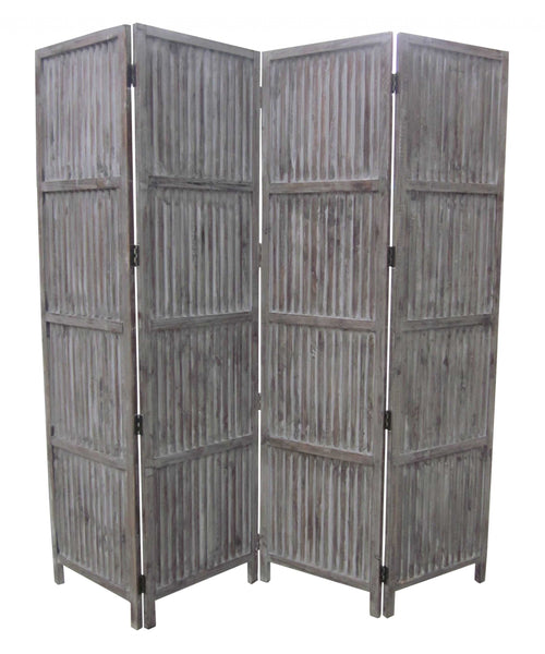 "1"" x 84"" x 84"" Brown, Wood- Screen"