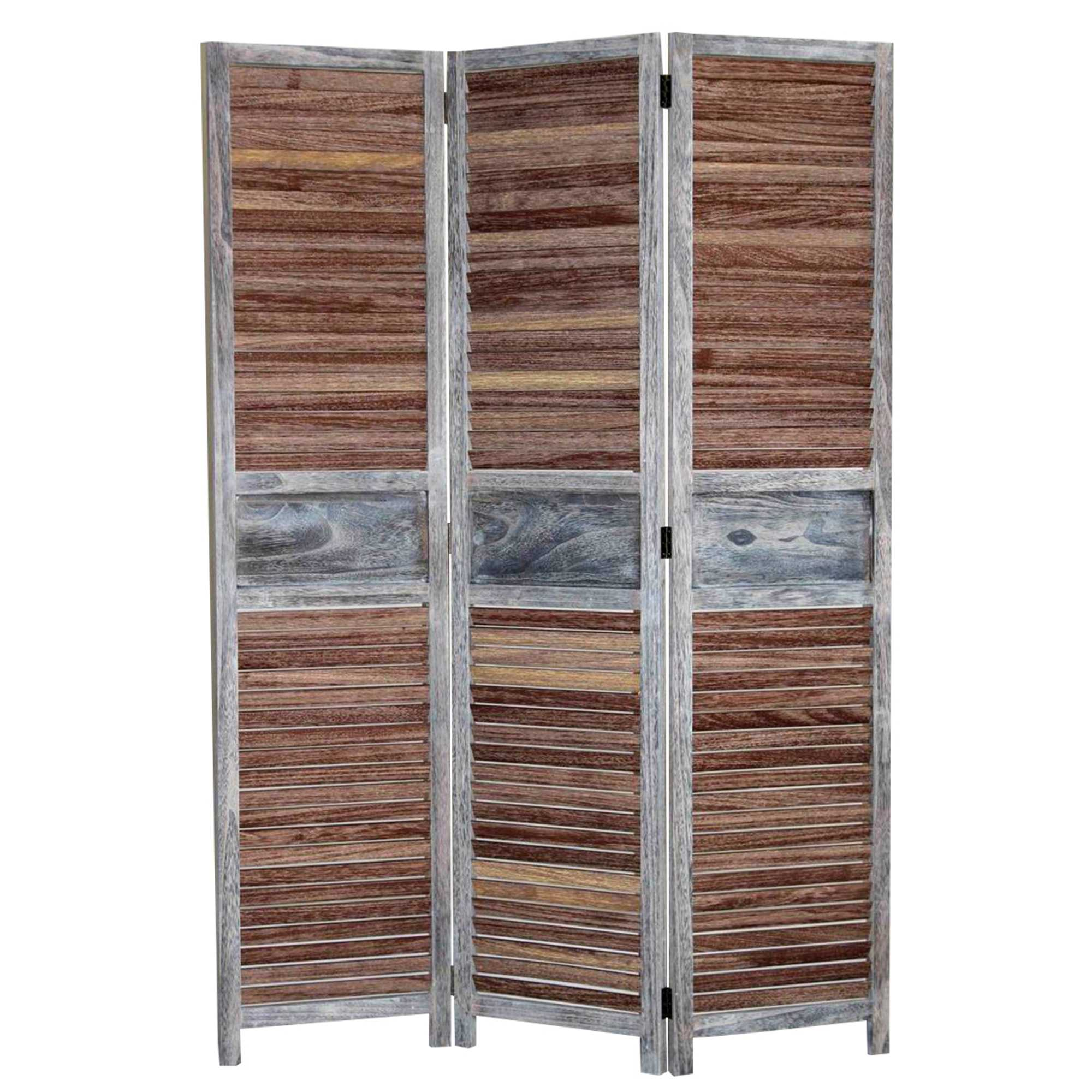 "1"" x 47"" x 67"" Brown, Wood - Screen"