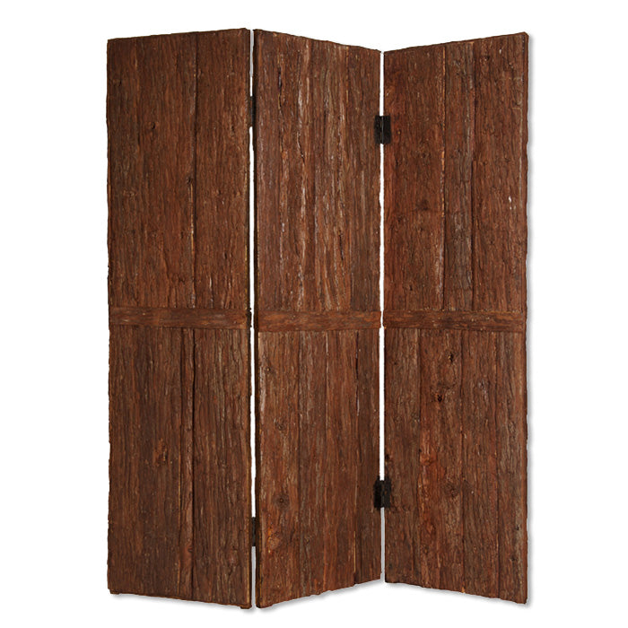 "1"" x 62"" x 72"" Brown, Wood, Tahoe - Screen"