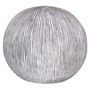 "1"" x 16"" x 14"" Sandstone, Ribbed Finish, Outdoor, Light - Ball"