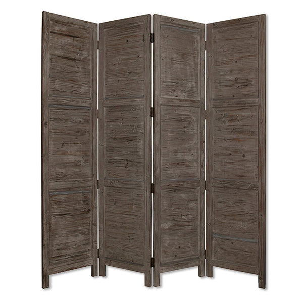 "1"" x 76"" x 84"" Gray, Wood- Screen"