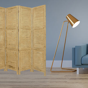 "1"" x 76"" x 84"" Yellow, Wood- Screen"
