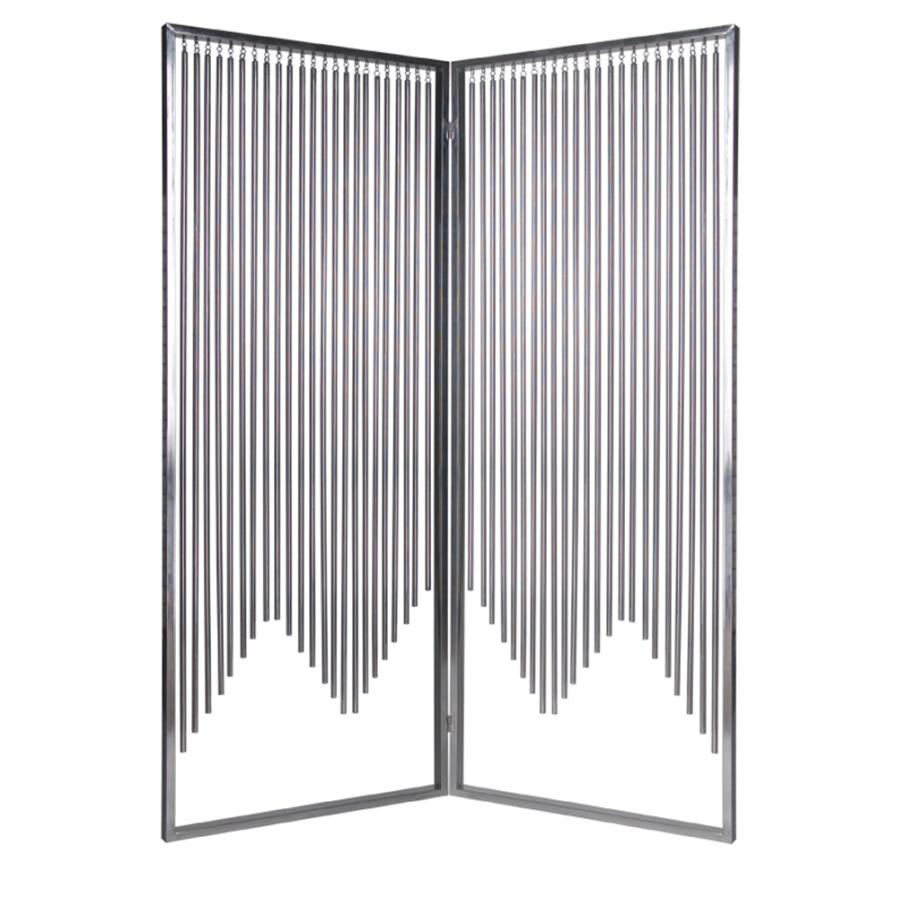 "1"" x 55"" x 71"" Silver, Metal - Screen"