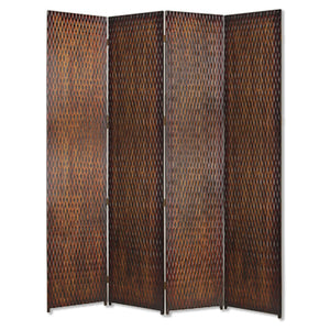 "1"" x 84"" x 84"" Brown, Wood - Screen"