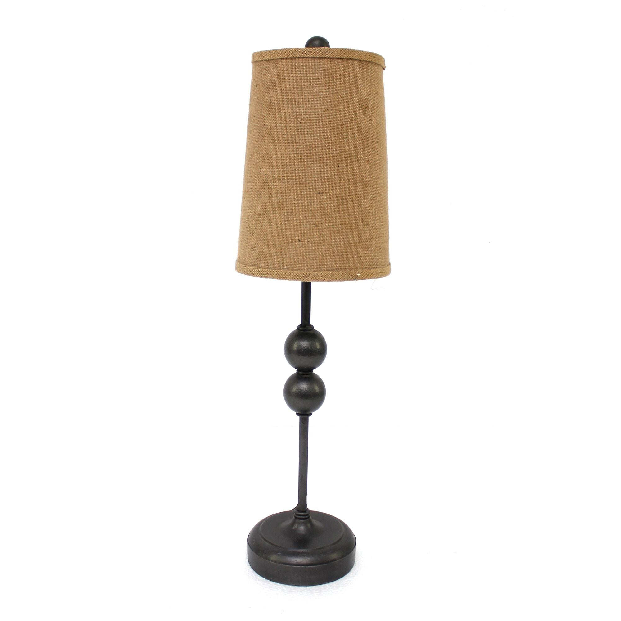 "8"" x 7"" x 29"" Bronze, Minimalist - Accent Table Lamp"