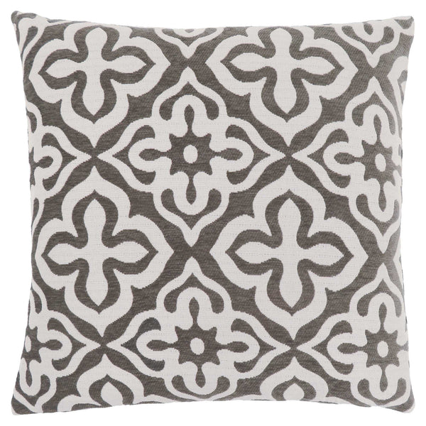"18"" x 18"" Dark Taupe, Motif Design - Pillow"