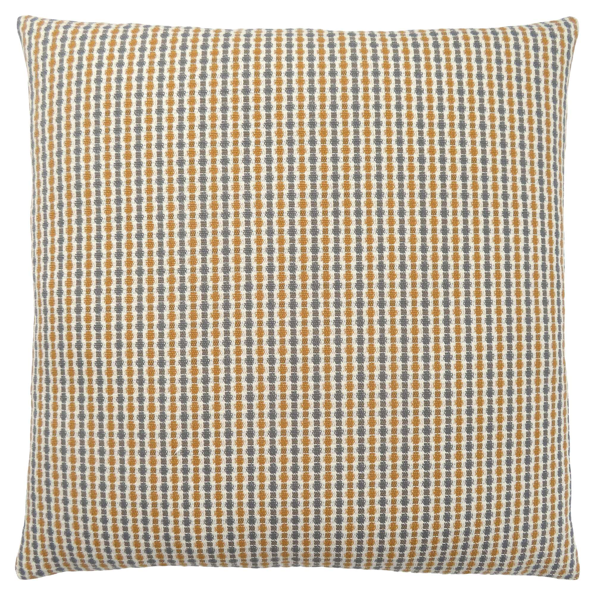 "18"" x 18"" Gold-Grey, Abstract Dot - Pillow"
