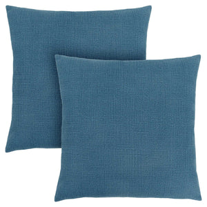 "18"" x 18"" Blue, Patterned - Pillow 2pcs"