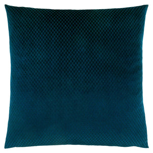 "18"" x 18"" Steel Blue, Diamond Velvet - Pillow"