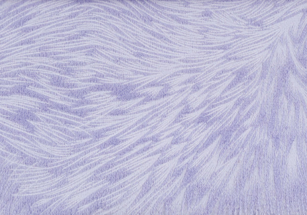 "18"" x 18"" Light Purple, Feathered Velvet - Pillow 2pcs"