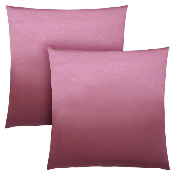 "18"" x 18"" Pink, Satin - Pillow 2pcs"