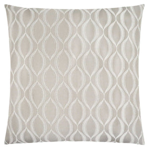 "18"" x 18"" Taupe, Wave Pattern - Pillow"