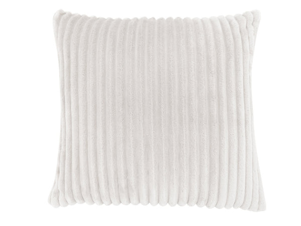 "18"" x 18"" Ivory, Ultra Soft Ribbed Style - Pillow"