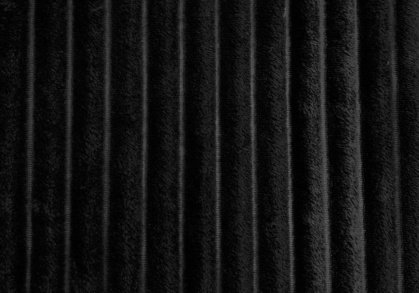 "50"" x 60"" Black, Ultra Soft Ribbed Style - Throw"
