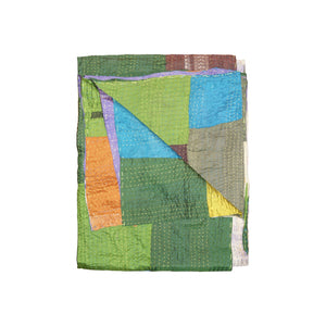 "50"" x 70"" Silk Multicolor Throws"