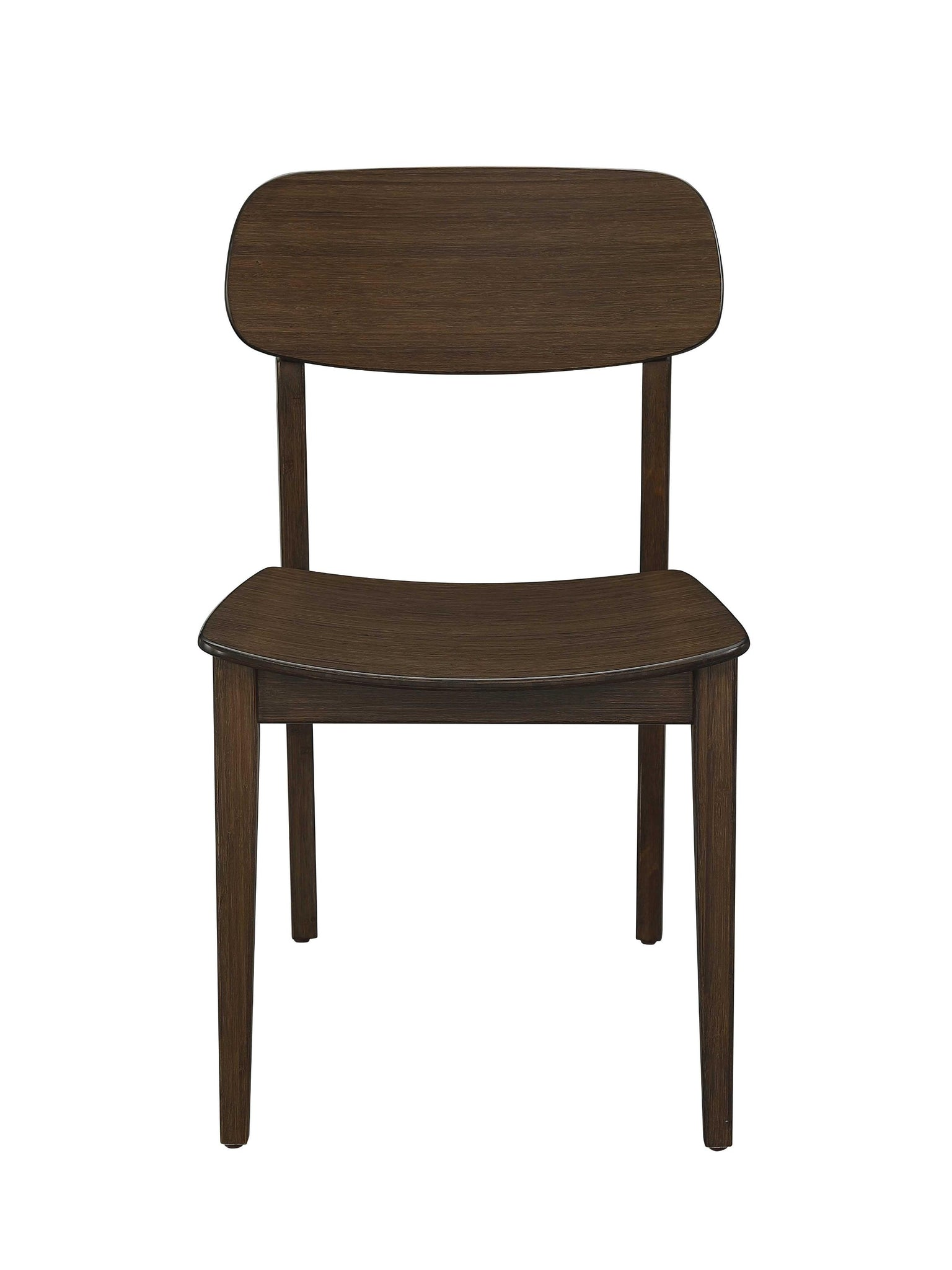"22.05"" x 18.9"" x 33.4"" Chair, Black Walnut, (Set of 2)"