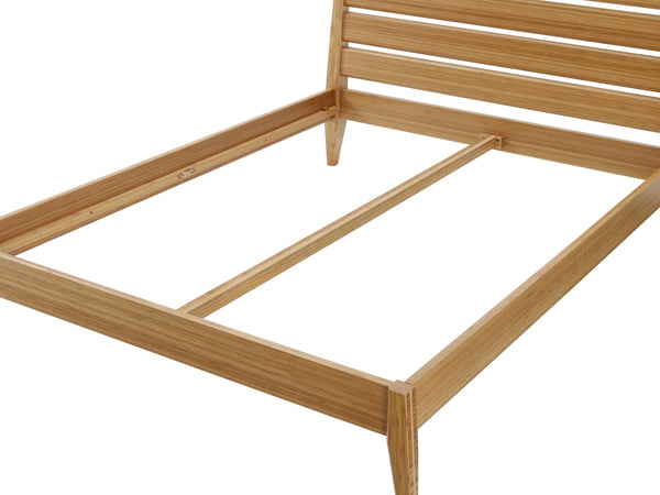 "66.25"" x 86.25"" x 39.95"" Queen Platform Bed, Caramelized"