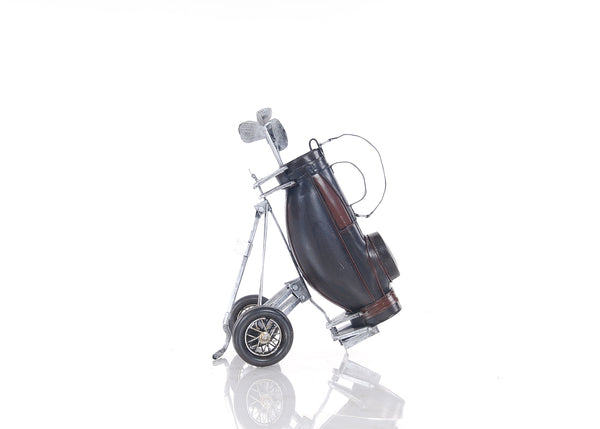 "6.5"" x 8"" x 10"" Black Golf Bag"