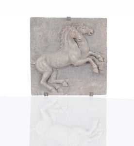 "5"" x 28.5"" x 29"" Horse Wall Decoration"
