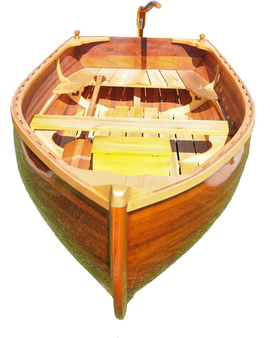 "51"" x 118.5"" x 27.75"" Little Bear Wooden Dinghy"