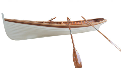 "41"" x 147.5"" x 27.5"" Clinker Built Whitehall Row Boat"