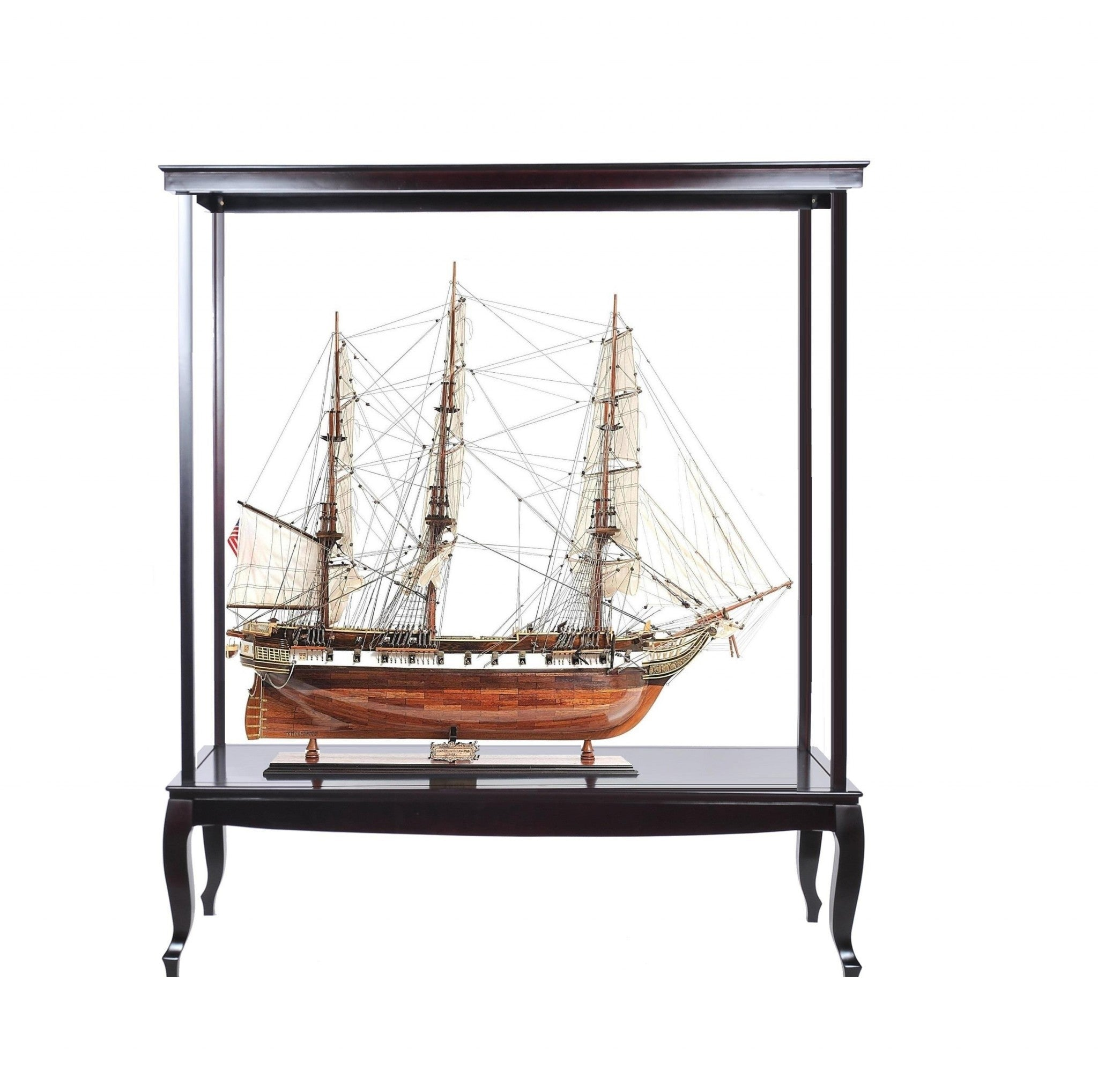 "23"" x 65"" x 75"" Display Case for Extra Large Ship No Glass"