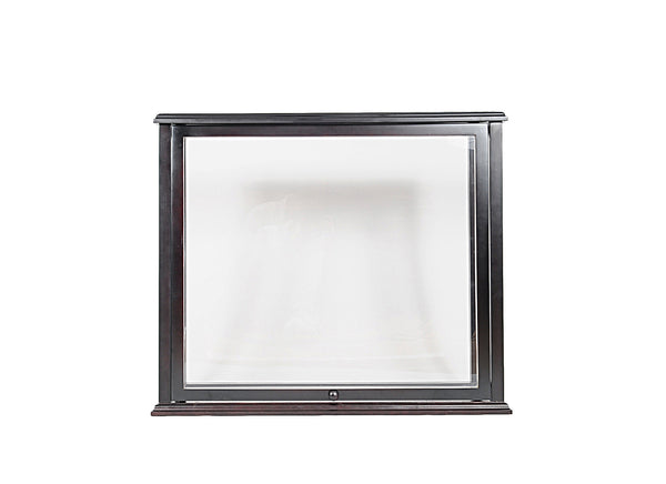 "13.5"" x 35.4"" x 29.5"" Table Top Display Case Medium Front Open"