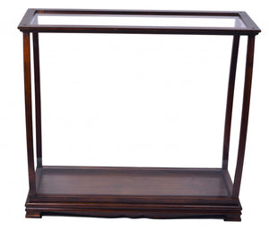 "13"" x 34"" x 31.5"" Classic Brown, For Midsize Tall Ship - Display Case"