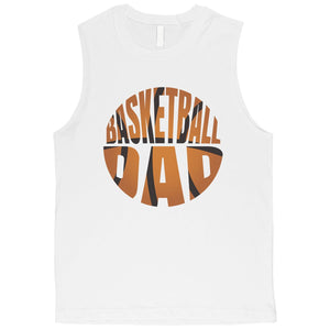 Basketball Dad Mens Sweet Enjoyable Father's Day Muscle Shirt Gift