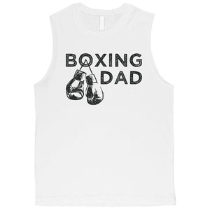 Boxing Dad Mens Wonderful Loving Cute Father's Day Muscle Shirt