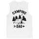Camping Dad Mens Strong-Willed Great Honest Muscle Shirt Dad Gift