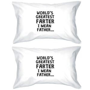 Farter I Mean Father Pillowcases Standard Size Funny Pillow Covers