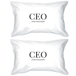 CEO Of The Household Pillowcases Standard Size Pillow Case For Mom