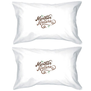 Mother Nature Pillowcases Standard Size Pillow Covers Gift For Mom