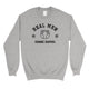 Real Men Change Diapers Mens/Unisex Fleece Sweatshirt Hilarious Dad